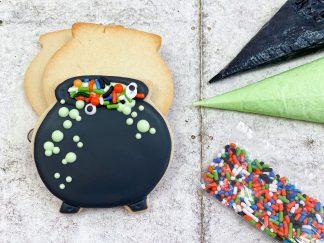 Mini Cauldron Halloween Cookie Kit