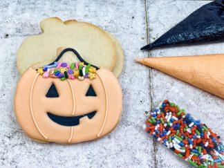 Mini Jack-o'-Lantern Cookie Kit